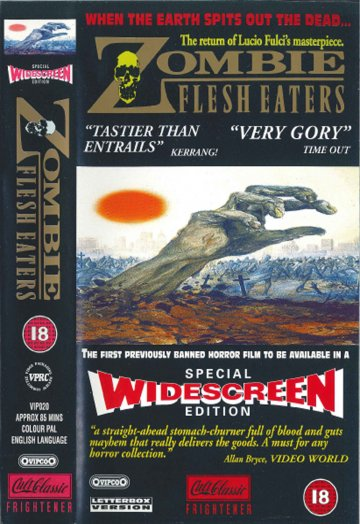 Zombie Flesh Eaters Widescreen